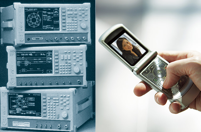 Measuring instrument series for wireless digital mobile devices: MT8801A/B