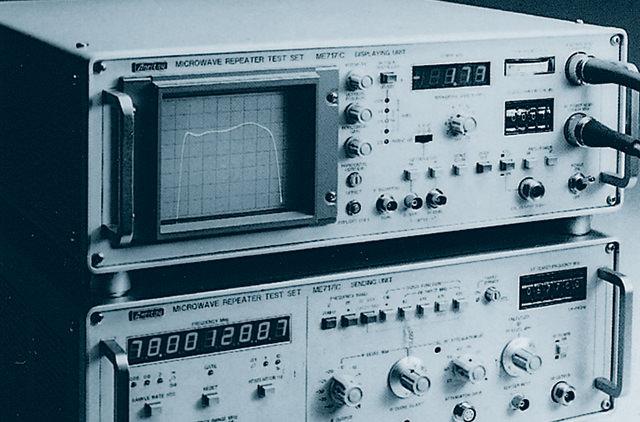 マイクロウェーブ回線用測定器
