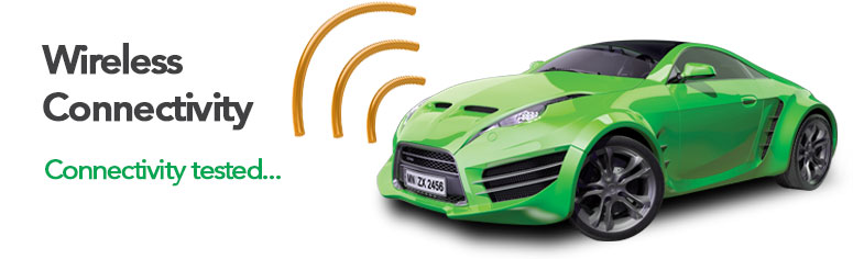 Automotive Test Solutions - Wireless Connectivity