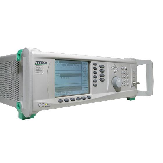 Microwave Rf Signal Generators : Rf microwave signal generator mg c anritsu europe