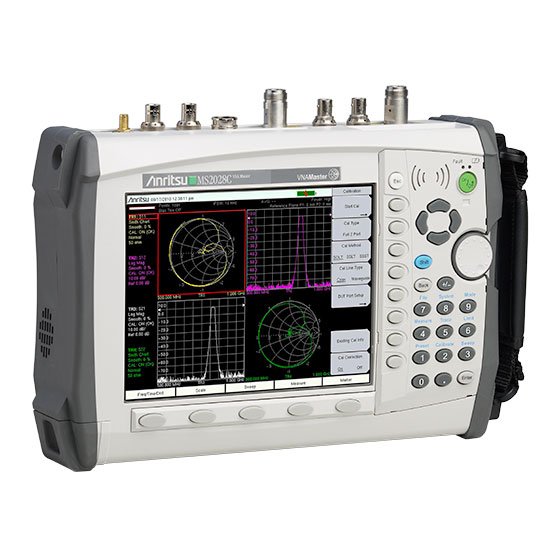 Network Analyzer Testing Radar Gun : Vna master ms c anritsu america