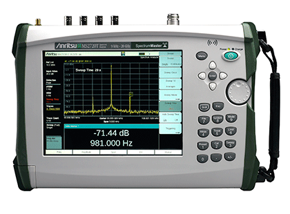 Handheld Spectrum Analyzer MS2720T