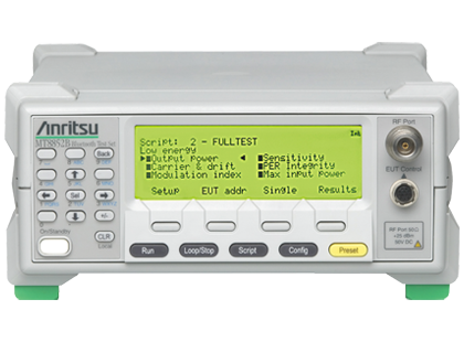 Bluetooth テストセット MT8852B