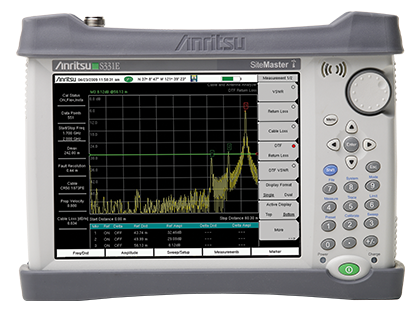 Site Master Compact Handheld Cable and Antenna Analyzer S331E