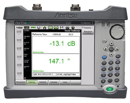 Портативный микроволновый анализатор кабелей и антенн Site Master