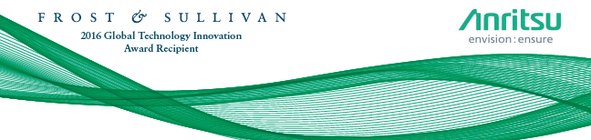 Frost & Sullivan - 2016 Global Technology Innovation Award Recipient