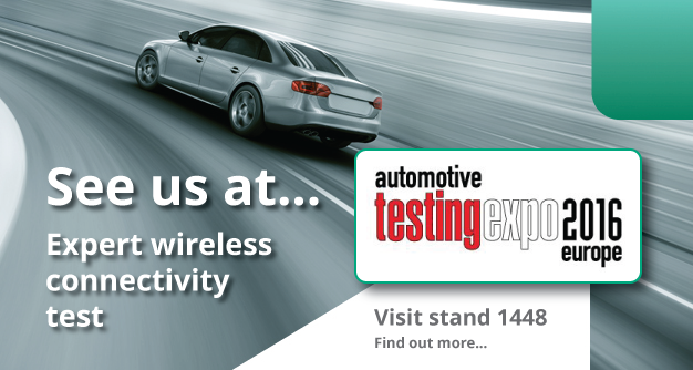 Automotive Testing Expo 2016 - Europe