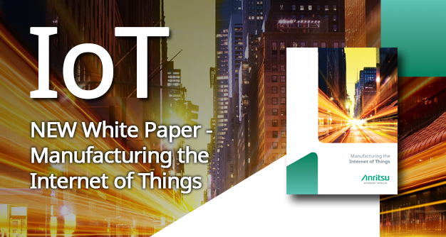 Internet of Things (IoT) - New White paper