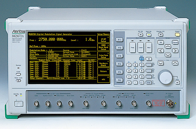 Digital Signal Generator MG3672A
