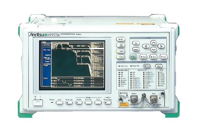 SoNET/SDH/PDH/ATM analyzer MP1570A