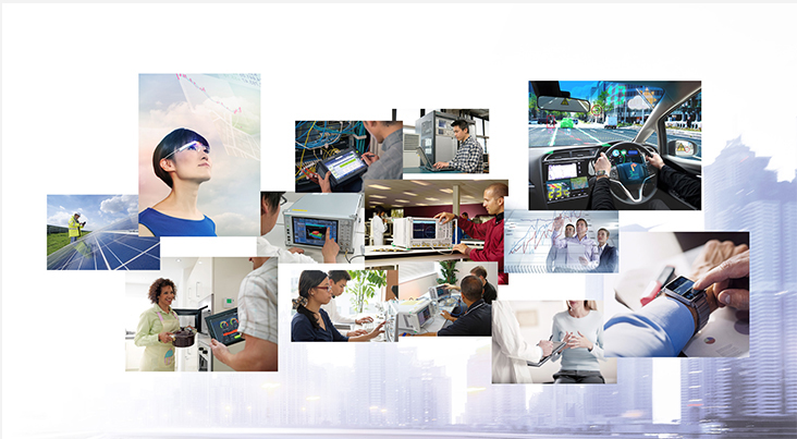 Photos in the IoT/5G section on page 4 of Anritsu's gallery panel