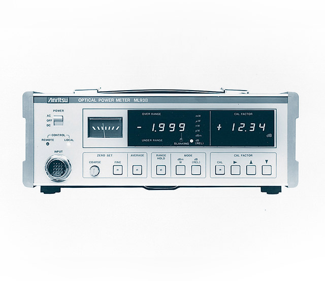 Optical power meter ML93A