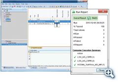 测试用例连续执行屏幕