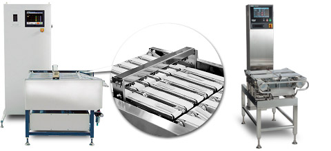 Checkweigher for Multiple Lanes