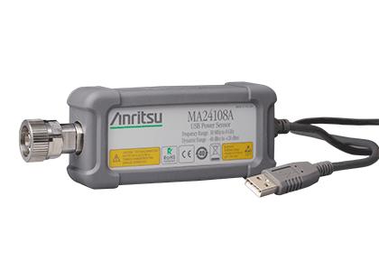 マイクロ波 USB パワーセンサ MA24108A