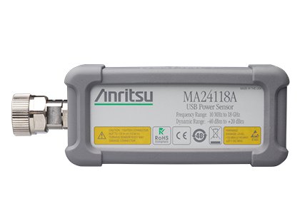 微波 USB 功率感測器 MA24118A