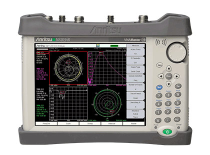 VNA Master + Spectrum Analyzer MS2034B