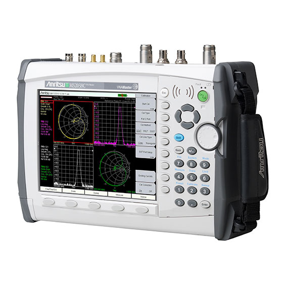 Step Frequency Radar Network Analyzer : Vna master spectrum analyzer ms c anritsu america