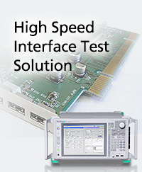 High Speed Interface Test Solution